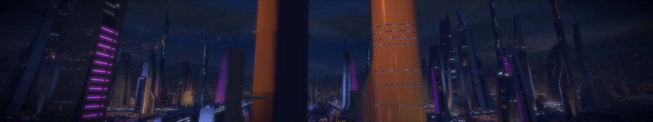 Illium 8 - Mass Effect 2 5760x1080 Wallpaper by Furente7