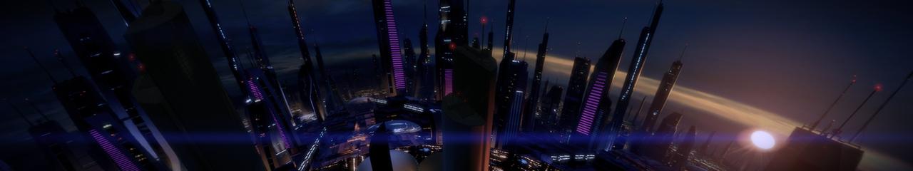 Illium 9 - Mass Effect 2 5760x1080 Wallpaper by Furente7