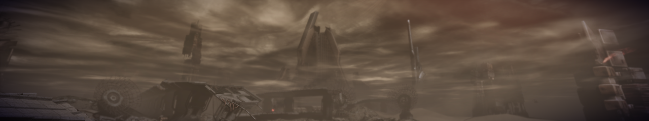 Tuchanka 7 - Mass Effect 2 5760x1080 Wallpaper by Furente7
