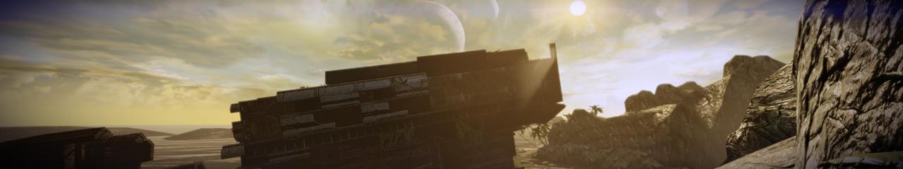 Aeia 4 - Mass Effect 2 5760x1080 Wallpaper by Furente7