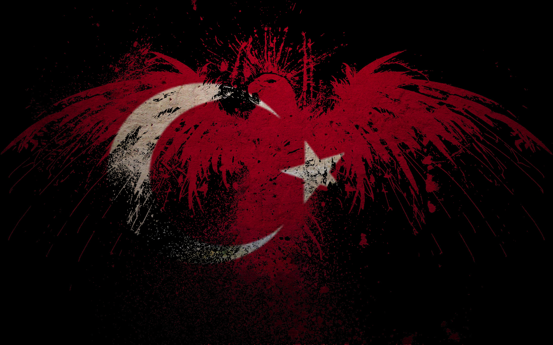 Turkish Design Wallpaper : Turkish flag by volkanbaba on deviantart