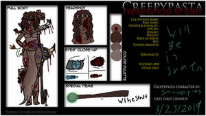Creepypasta oc:Demogorgon the zombie  which by sunart123
