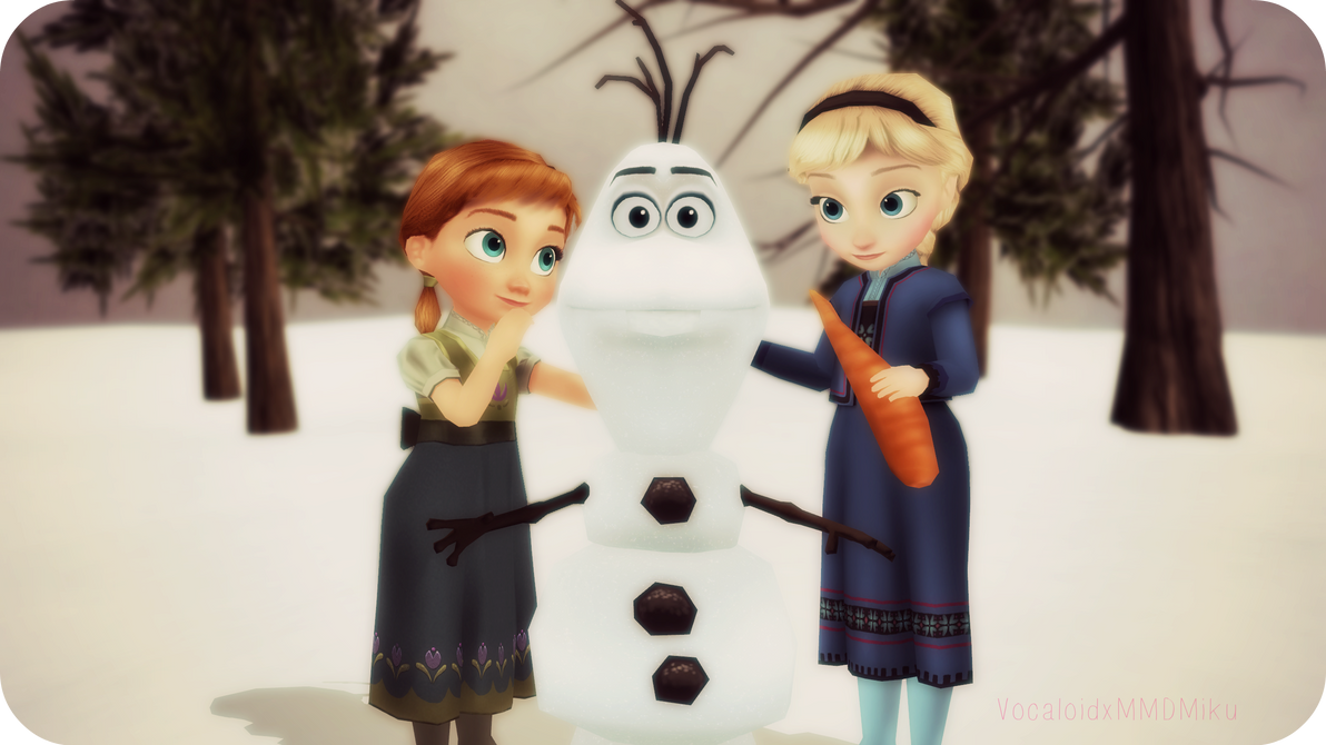.:DO YOU WANT TO BUILD A SNOWMAN?:. by VocaloidxMMDMiku
