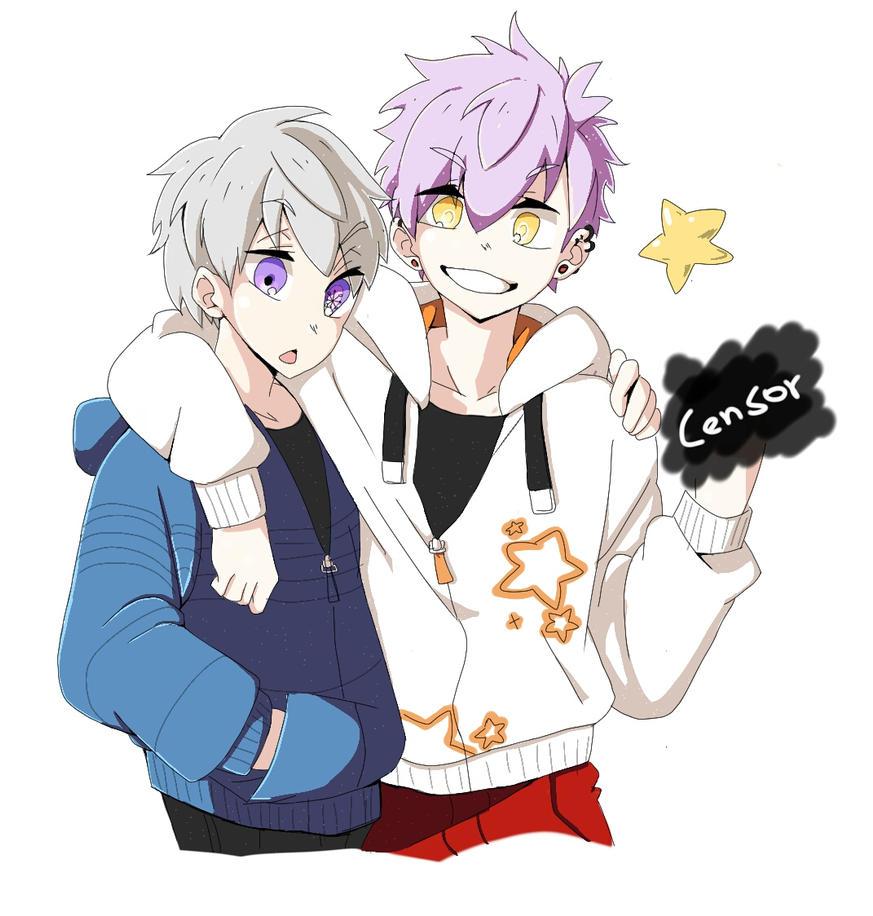 Jun and Sodai by nakaru-san