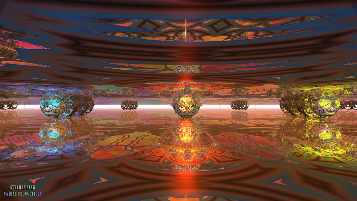 Spider Gods of Barsoom (8K): Helium Temple I by Paigan0
