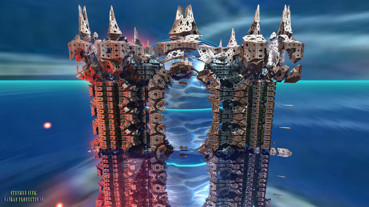 Keep of the Deep (8K): #3 Quantum Castles 3 by Paigan0