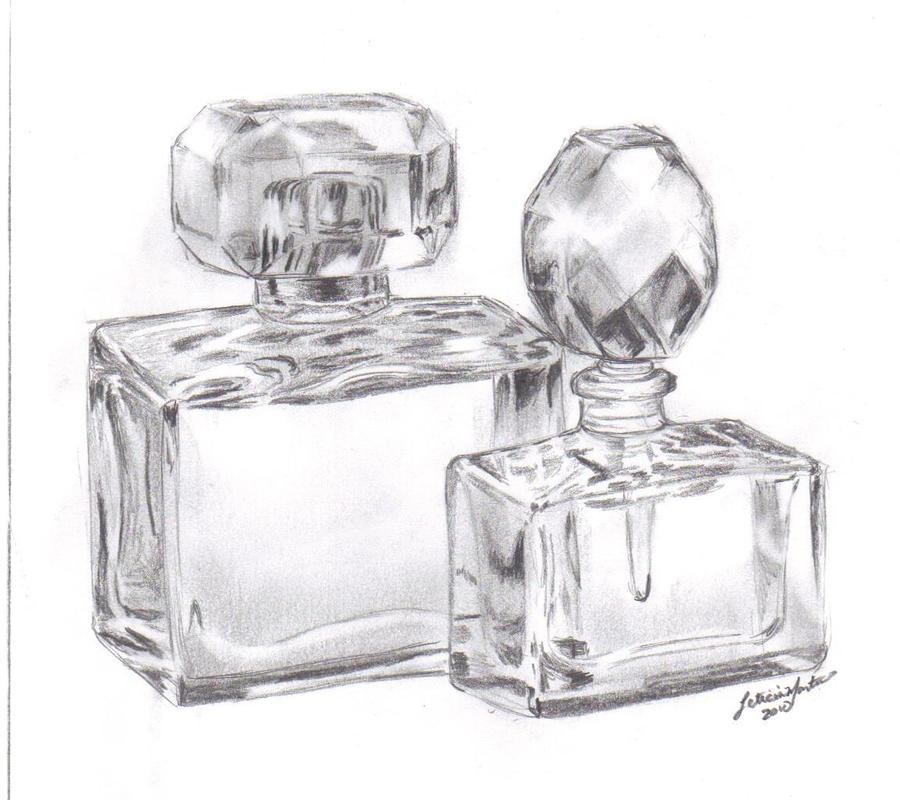 Perfume Bottles by lettym on DeviantArt