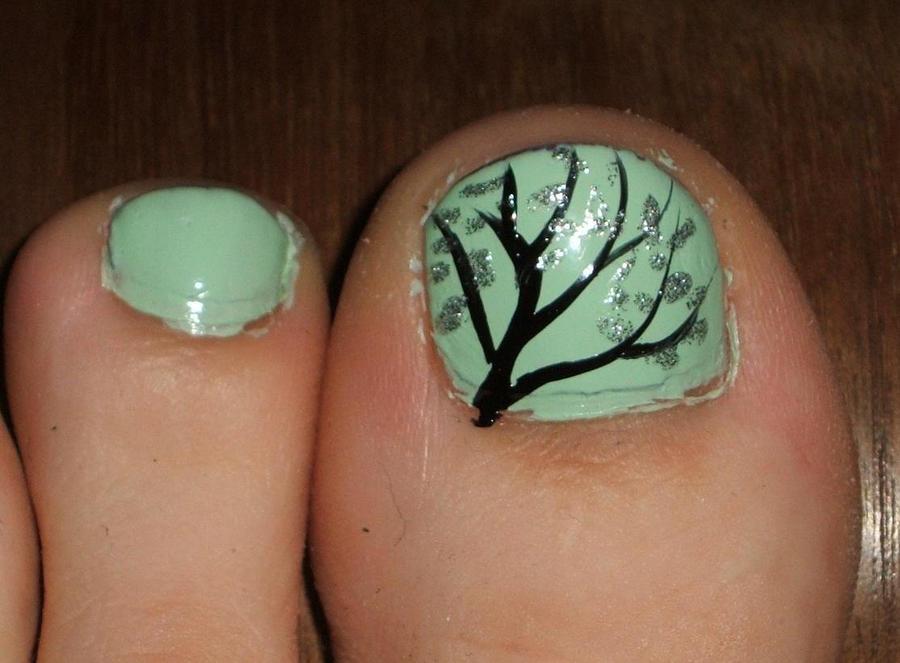 Toe Nail Tree by lettym on DeviantArt