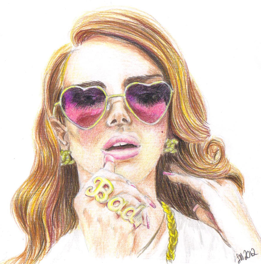 Lana del rey color by lettym on deviantart for Lana del rey coloring pages