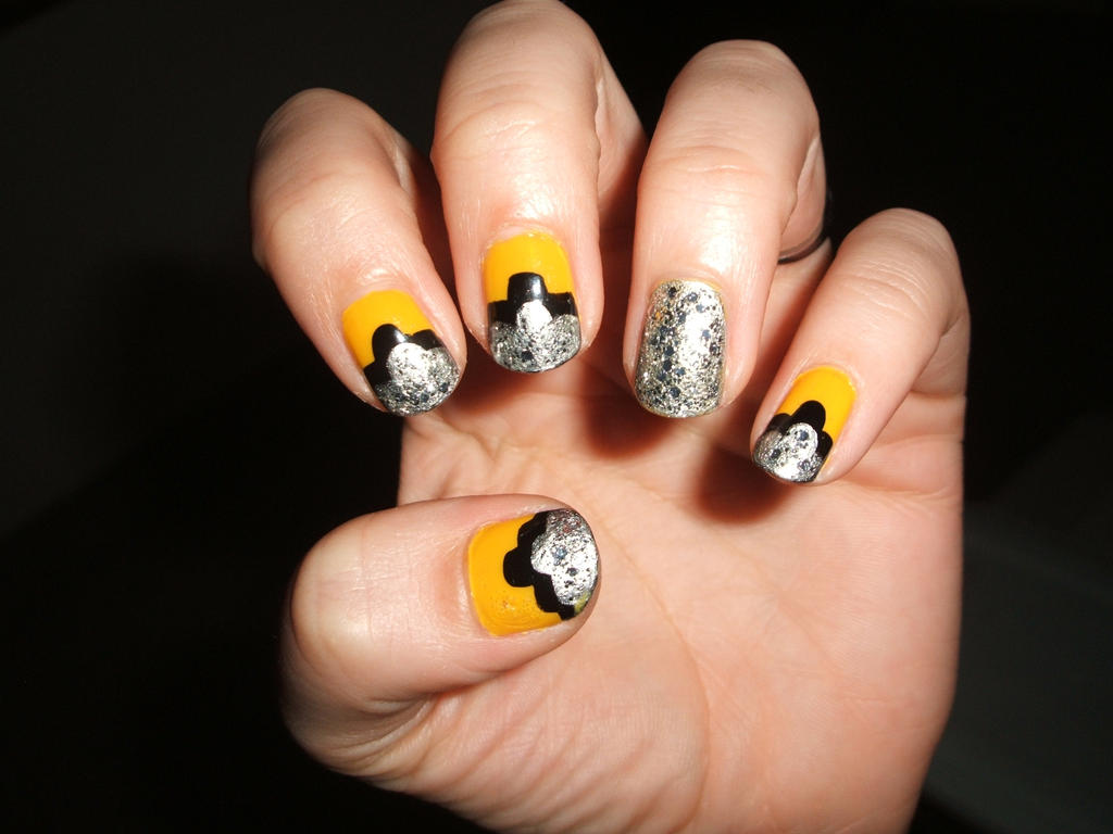 Silver black n yellow by lettym