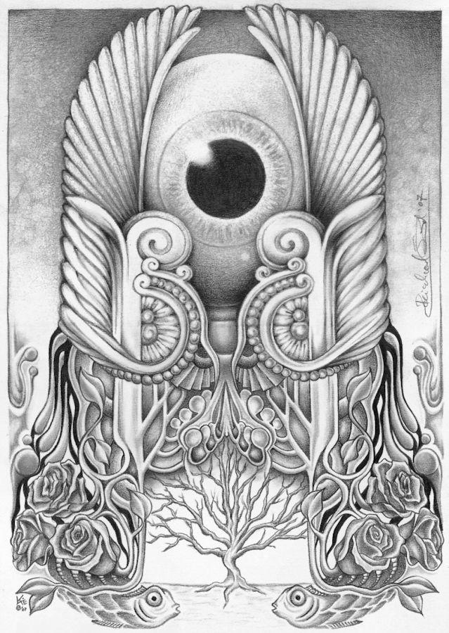Anubis Eye by ChaosKatie