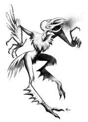 Another Weird Bird Drawing