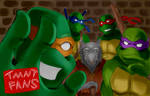 CONTEST ENTRY:TMNT Fans by 000123456