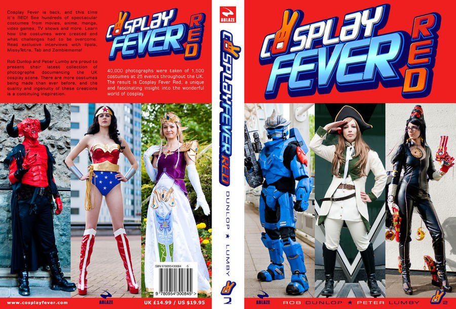 'Cosplay Fever Red' book cover by CosplayFever