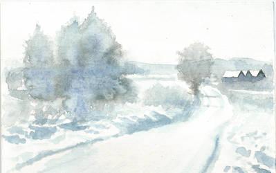 Zimowa Pocztwka