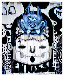 Graffiti XIX by Of-Heliotropes