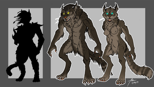 Physicalities of Werewolves-The Khajiit