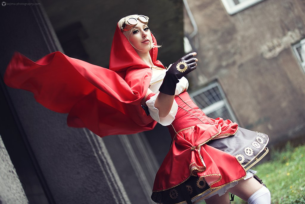 Steampunk Red Riding Hood by Anita-Lust
