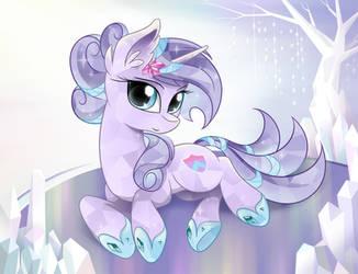 Crystal Pony by Dream-Weaver-pony