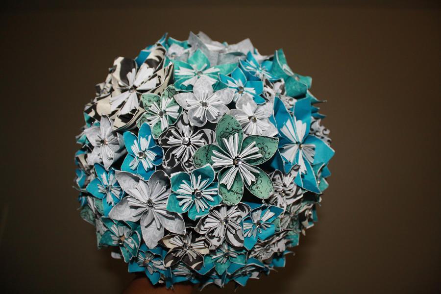 origami bouquet by dropsofjupiter88 on deviantart