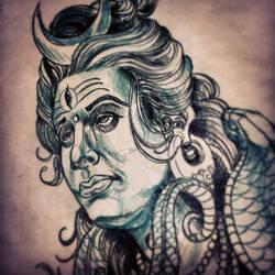 Shiva by Dicknosetengu