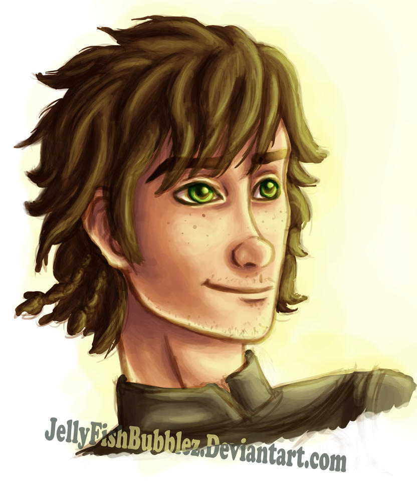 Older Hiccup Doodle by Jellyfishbubblez