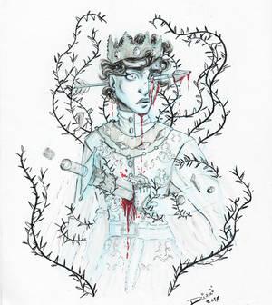 Inktober: Ghost prince