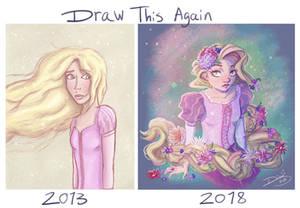 Draw This Again: Rapunzel