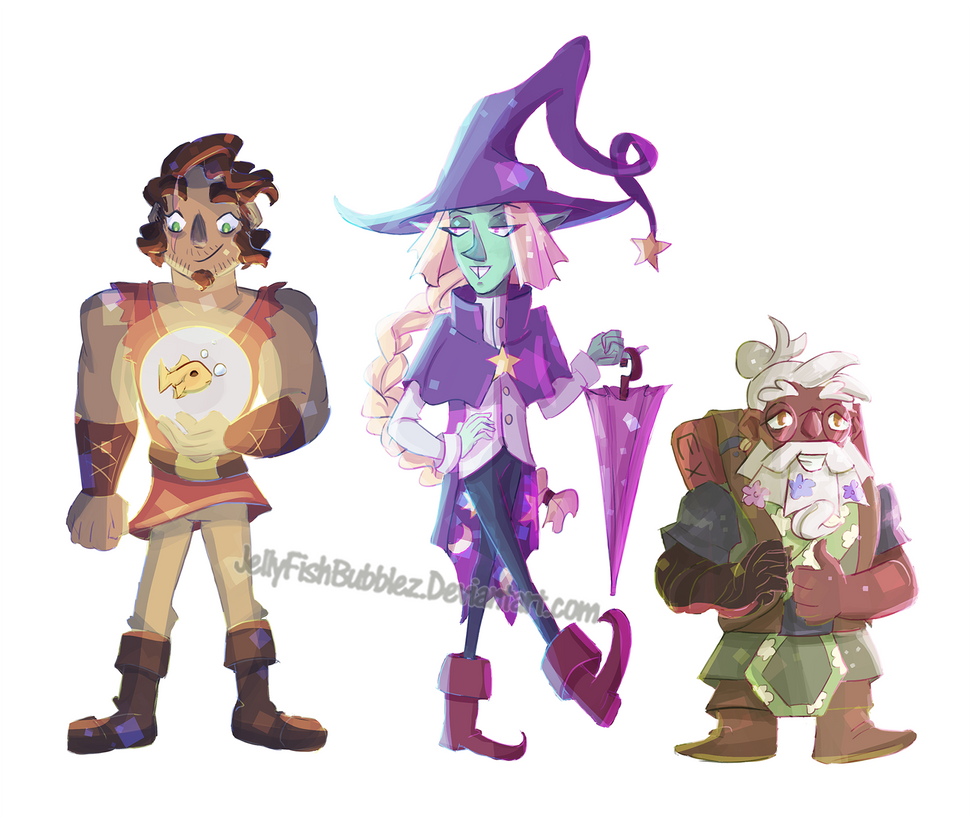 The Adventure Zone Stickers by Jellyfishbubblez