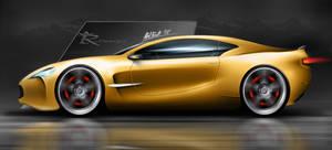 Concept X-Sport Car by SlincksInTheWind