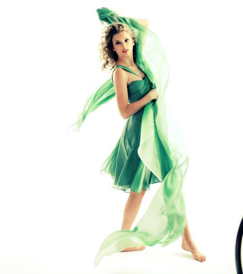 c6334797f The Girl In The Green Dress by WonderTaylorstruck13 on DeviantArt