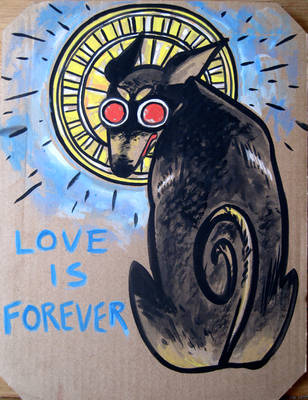 love is 4EVER by thepapermouse