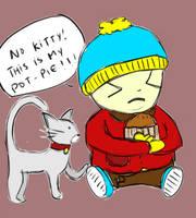 South Park: Cartman and Kitty by MAXIMUMRAY