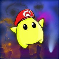 Luma Mario by Chugoku-jinko