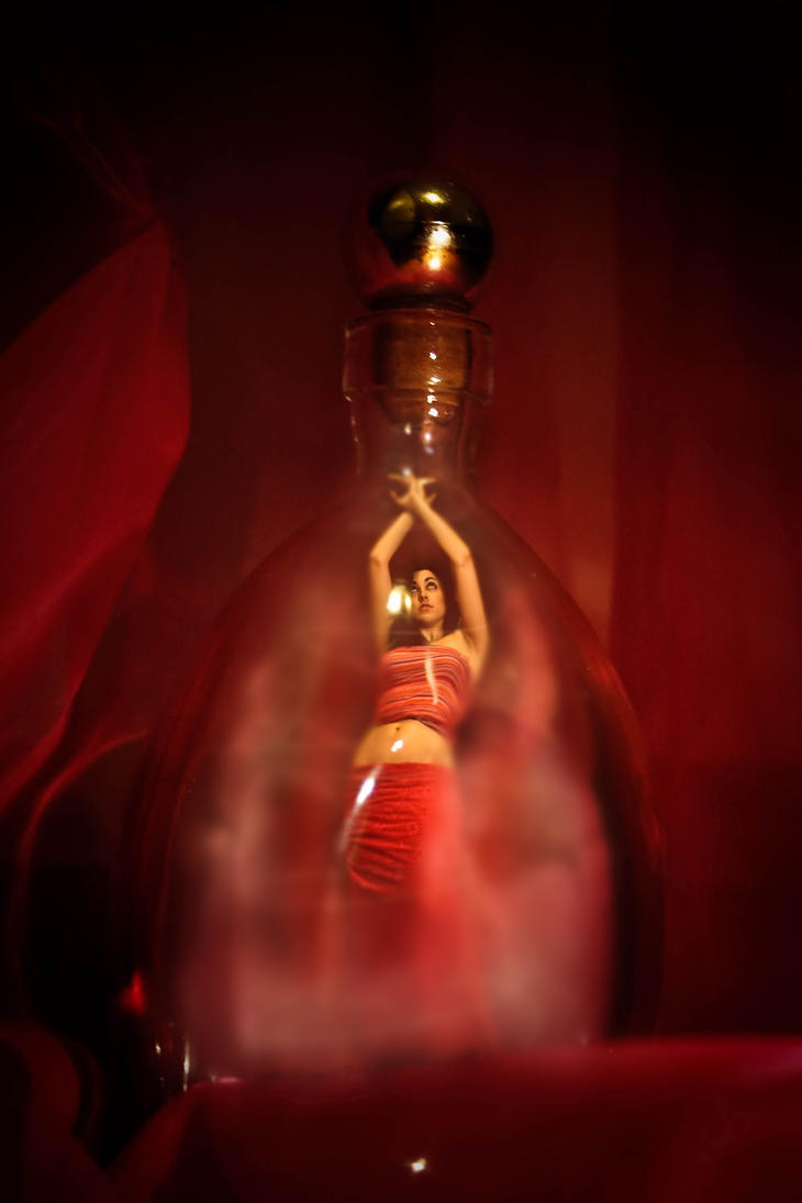 Genie in a bottle by ShadowsOfTheDay