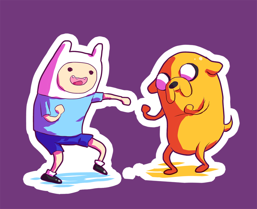 Adventure Time Sticker By M Go On Deviantart
