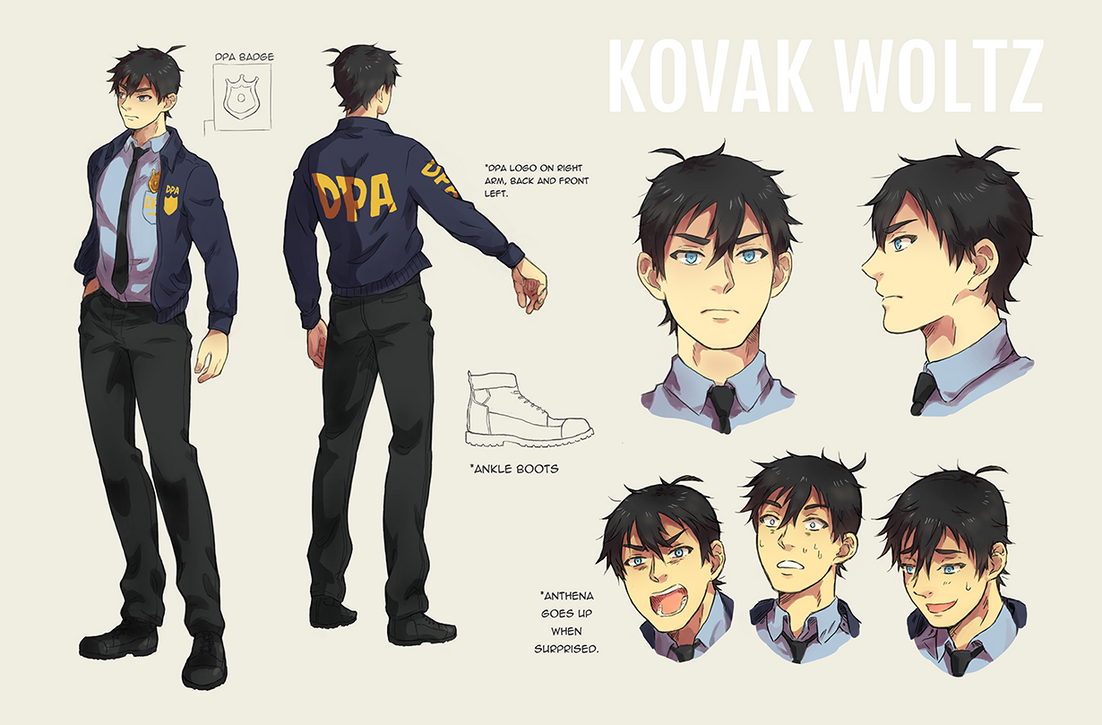 Kovak Character Sheet by M-GO
