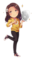 Chibi commission for Vicky by M-GO