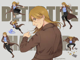 Detective Harrier in action by M-GO