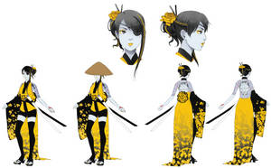 Mumei Full Character Sheet by M-GO