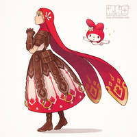 My Melody cleric by M-GO