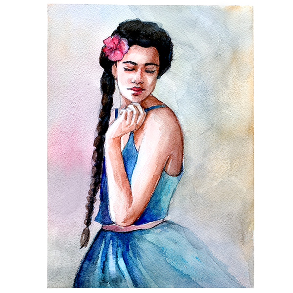 Latinas With Braids Latina Braided Hair By Themiceart
