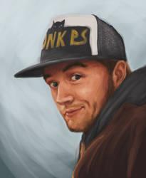 James Wears a Hat