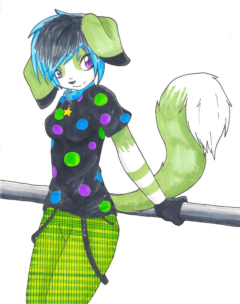 +GA+ Maki Furry by Kyosminenotyours