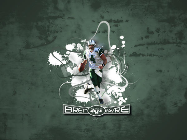 Brett Favre No. 2 by cotrackguy