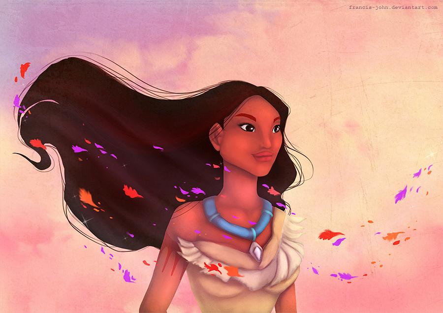 Pocahontas by francis-john