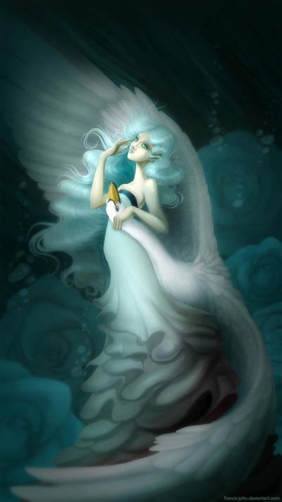 Swan Lady by francis-john