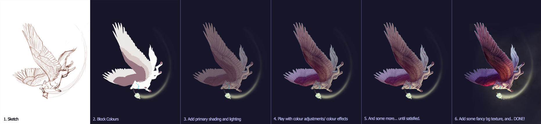 Light Bringer Process by francis-john