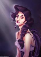 Violette Portrait by francis-john