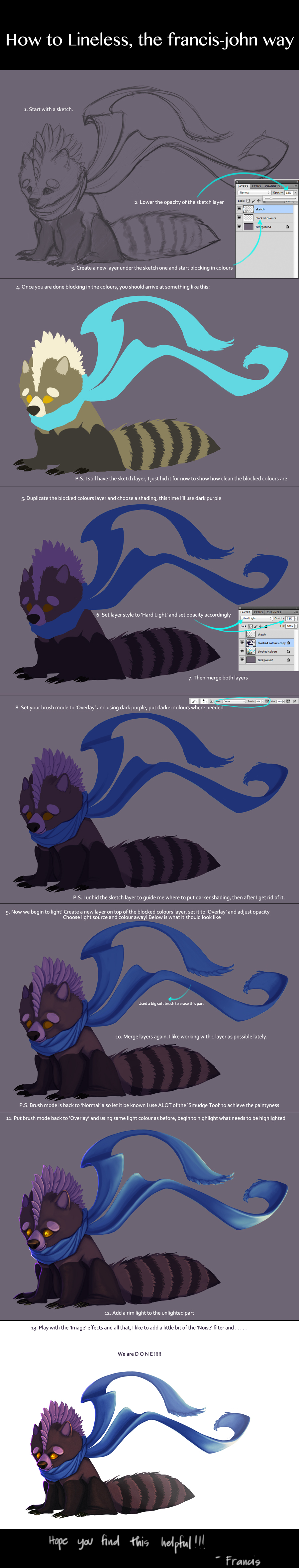 How to Lineless by francis-john